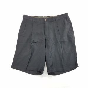 Tommy Bahama Mens Pleated Shorts Relax Pure Silk
